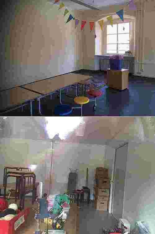 Räume Mittagsbetreuung Grundschule Mitte